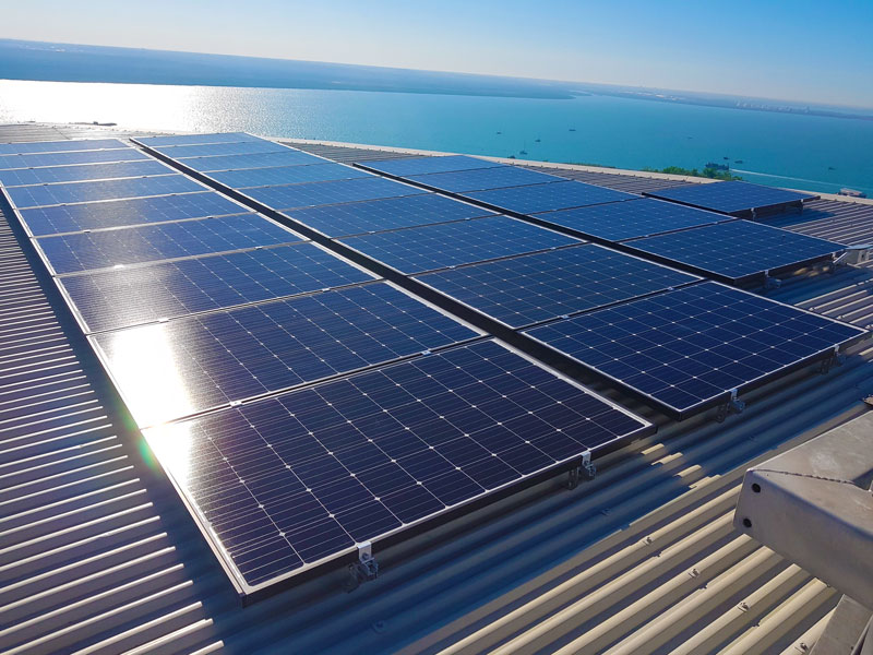 charles darwin centre nt 100kw solar pv