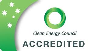 Accredited by Clean Energy Council