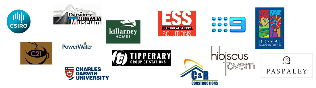 country solar nt solar powered client logos