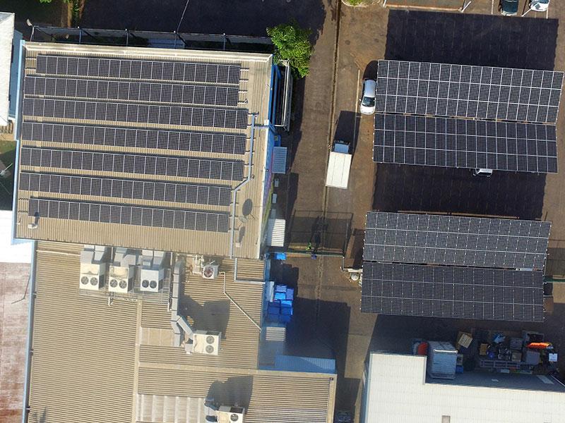 Colemans Printing Solar Carpark