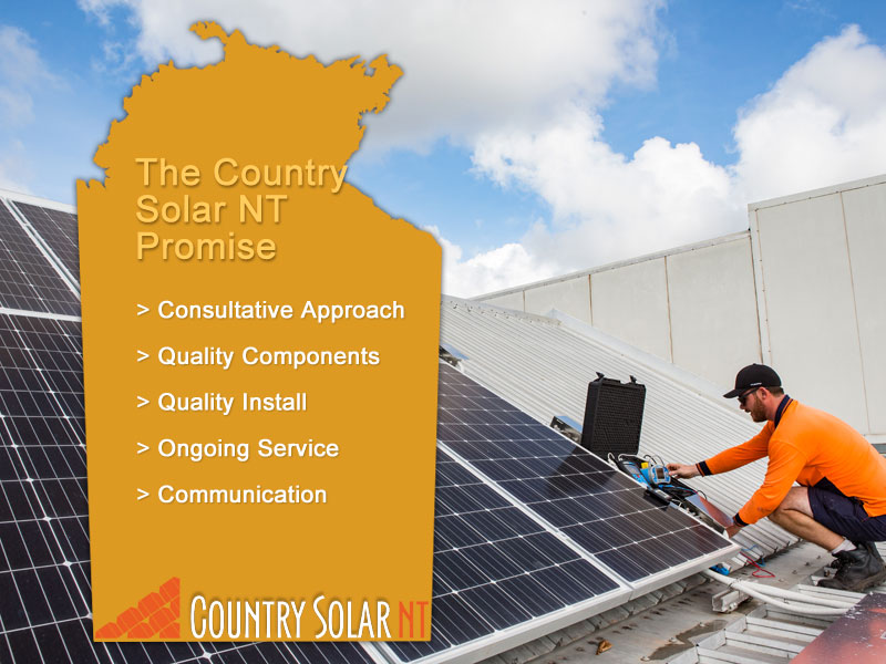 The Country Solar NT promise