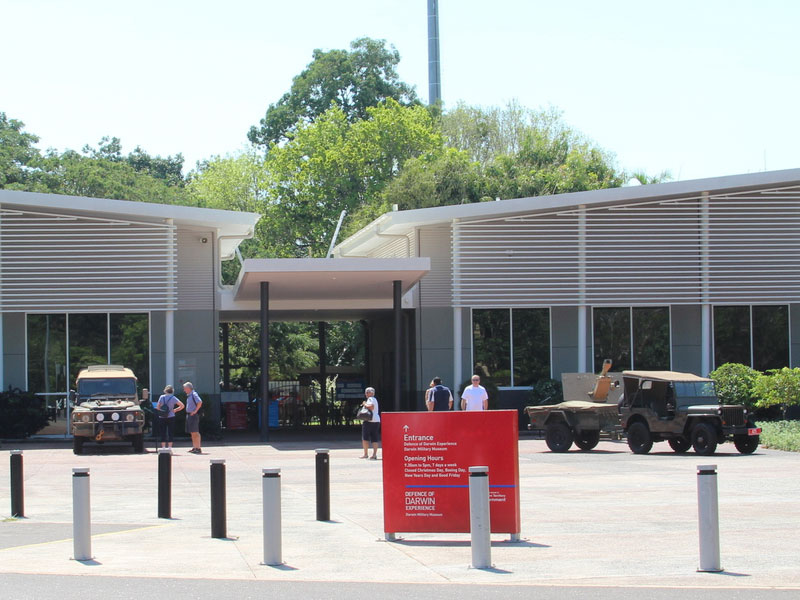 Darwin Military Museum passively generating 95kWh of solar power each year
