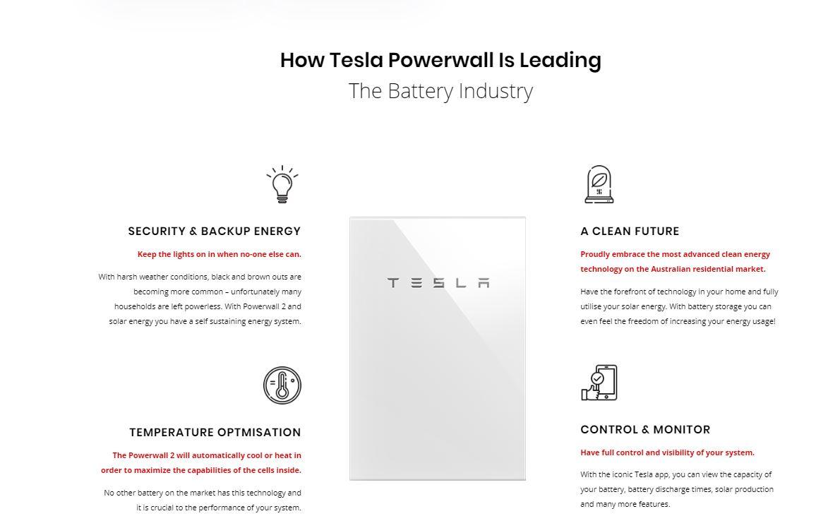 solar batteries tesla powerwall