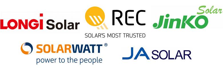 solar panel logos