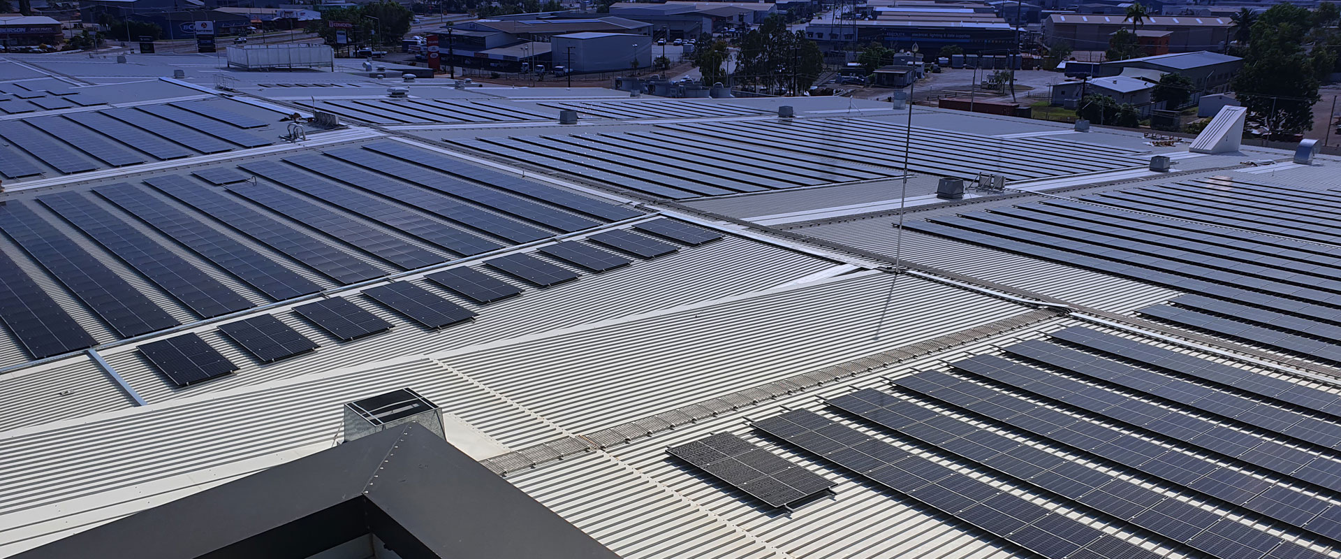 rooftop solar pon a shopping centre northern territory