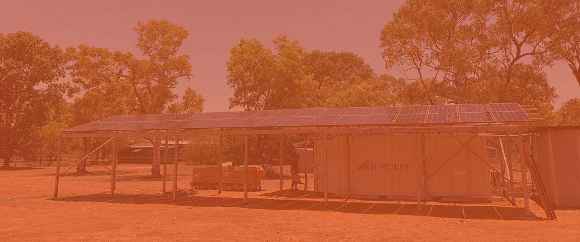 off grid solar power in NT outback australia